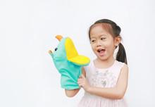 Little Asian Child Girl Hand W...
