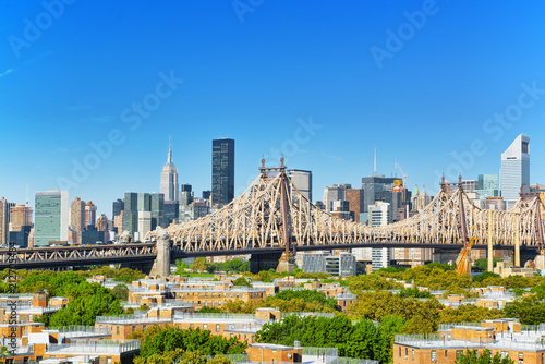 Spoed Foto op Canvas Verenigde Staten New York, Queensborough Bridge across the East River between the Manhattan and Long Island City in the borough of Queens.