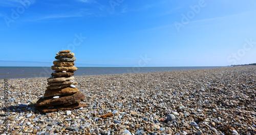 Photo sur Plexiglas Zen pierres a sable Aldeburgh Beach