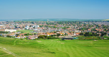 View Of The Town Of Seaford Fr...