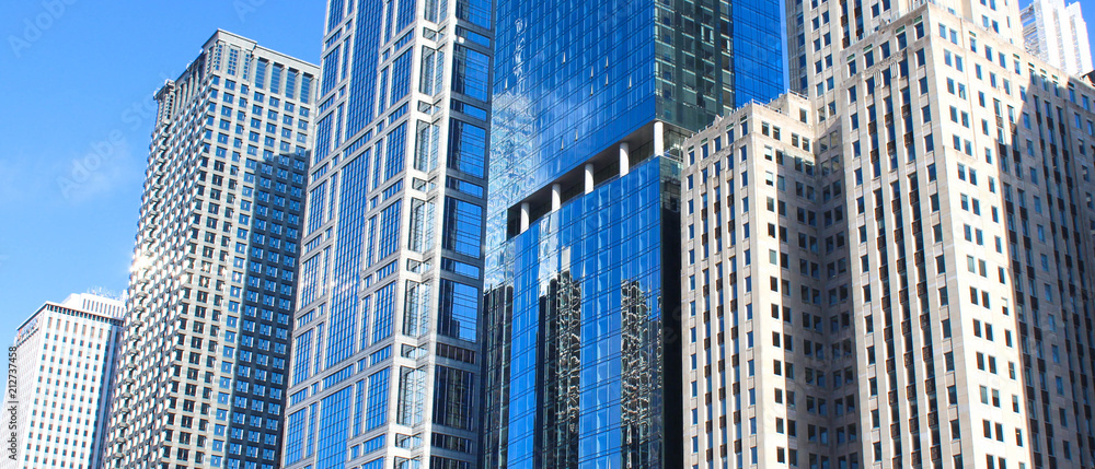 Fototapeta USA - Skyscrapers
