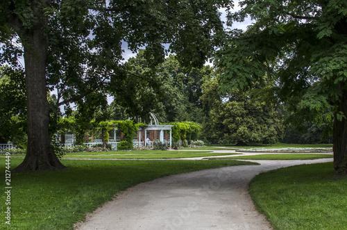 Fototapeta ogród park  obraz