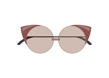 Stylish Female Cat-Eye Sunglas...