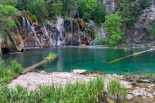 Waterfalls And Lake In Hanging...