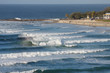 Snapper Rocks, iconic surf spot and the most southerly beach of the Gold Coast, Australia