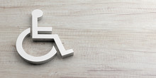 Wheelchair, Disabled Sign Isol...