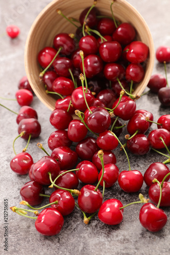 Plakaty owoce delicious-cherry-fruit