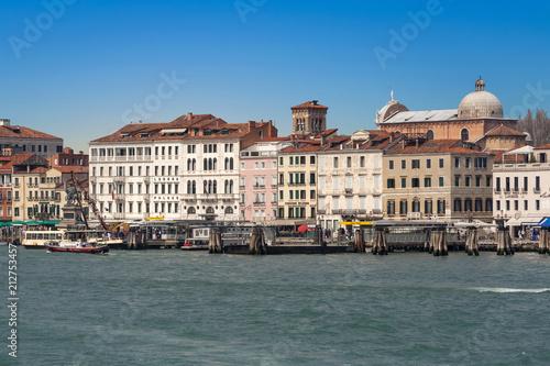 Plakat panoramę Wenecji