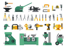 Set Of Master Tools For Metal....