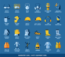 Collection Of Safety Equipment...