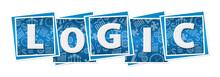 Logic Business Texture Blocks Blue