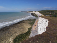 Seven Sisters Cliffs Between B...