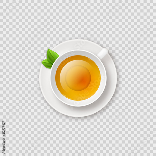 realistic shiny tea cup with herbal green tea vector illustration on transparent checkered background tea cup top view buy this stock vector and explore similar vectors at adobe stock adobe stock herbal green tea vector illustration