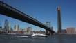 Time-lapse of the Manhattan Bridge. New York City, United States of America.