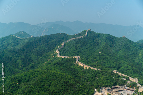 Deurstickers Chinese Muur the great Wall of China
