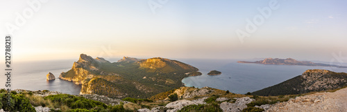 Panoramic view of the north of Mallorca