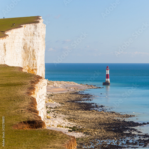 Fotografie, Obraz  Seven sisters on the coast of Kent