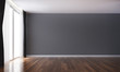 Leinwanddruck Bild - The empty luxury living room interior design and wall pattern background texture