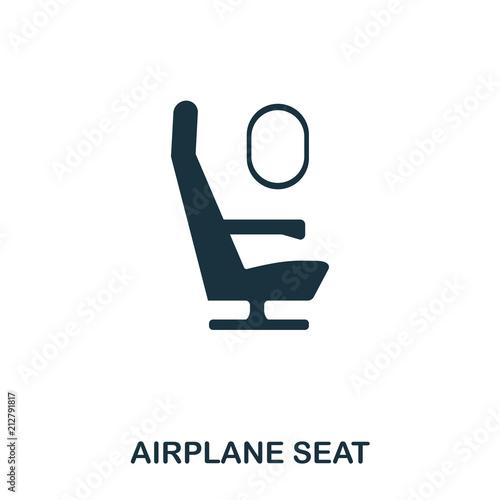 Airplane Seat icon Fototapet