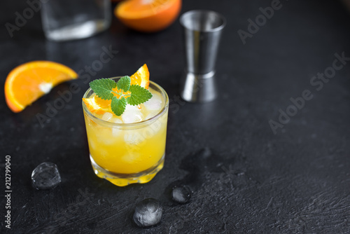 Foto op Plexiglas Cocktail Gin and orange juice cocktail