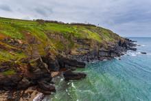 View Of Atlantic Coast Of Cornwall- Lizard Point, UK