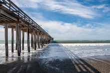 The Wooden Pier At Pismo Beach...