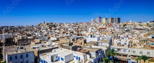 Panoramic view of Sousse, Tunisia Fototapeta