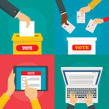 Ballot Voting Box Vote Polling...