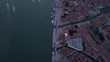 Beautiful Aerial footage of Venice Italy at sunrise
