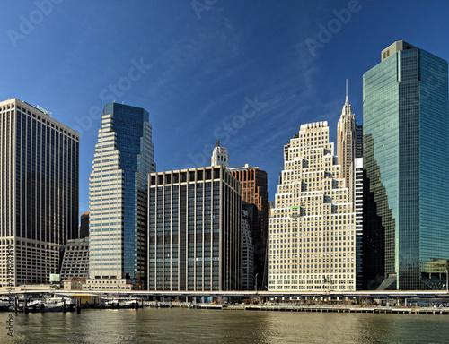 Foto op Aluminium New York City Lower Manhattan.