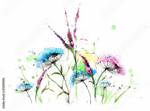 Poster de jardin Peintures summer
