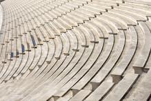 Marble Stairs Of Stadium