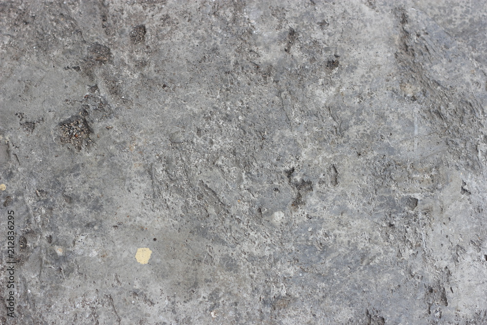 Fototapety, obrazy: Abstract dirty rough holey perforated unpolished cement concrete texture