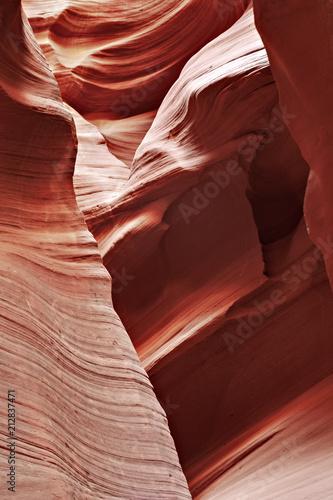 Wavy Rock Canyon Canvas-taulu