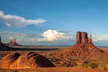 Iconic Sandstone Buttes Of Mon...