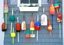 Colorful Fishing Float Hanging...