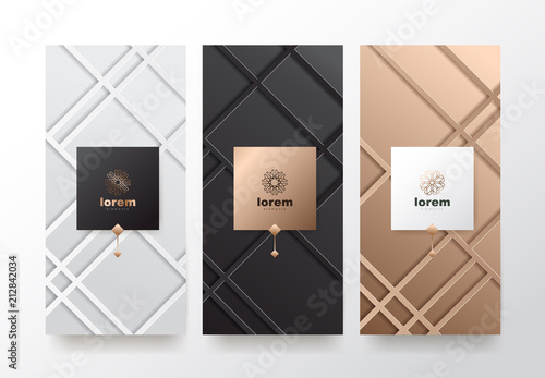Book packaging templates