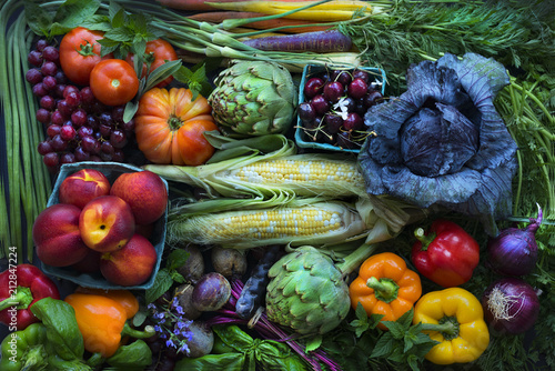 Foto op Canvas Eten Summer Produce