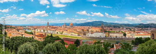 Foto op Plexiglas Florence Florence, Italy, panoramic view