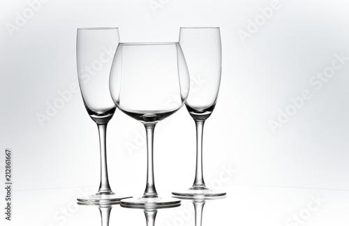 Set of glasses.