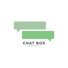 Chat Box Graphic Template