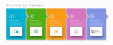 Timeline, Flowchart Design #Vector Graphics