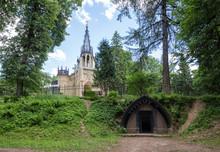 Crypt Of Adolf In Shuvalovsky Park, St. Petersburg, Russia