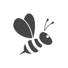 Bumble Bee Icon Logo