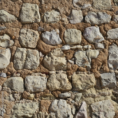 In de dag Stenen simple stone texture, old natural wall photography