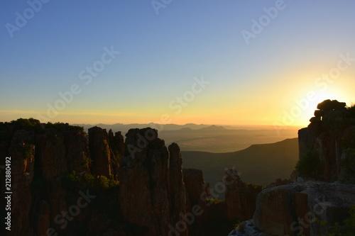 Plakát  Landschaft in Südafrika