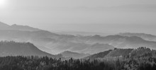 Panorama Aussicht Schwarzwald Schwarzwaldhochstrasse
