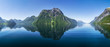 canvas print picture - Fjord in Norwegen