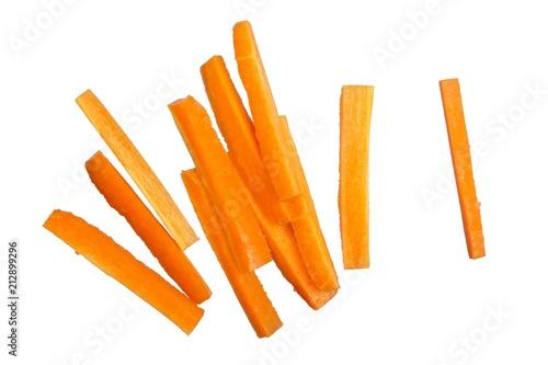 Fotografia  carrot isolated