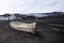 Antarctic, Old Wooden Rowing Boat
